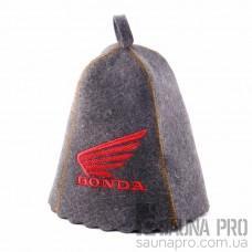 "Шапка для бани ""honda"" (серый войлок), Saunapro"