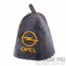"""Шапка для бани """" opel"""" (серый войлок), Saunapro"""