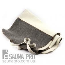Коврик для сауны комби XXL натуральный войлок, Saunapro
