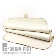 Коврик для сауны светло-серый XXL натуральный войлок, Saunapro