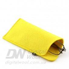 Чехол для очков Digital Wool (Color) желтый