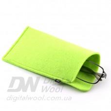 Чехол для очков Digital Wool (Color) салатовый