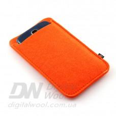 Чехол для телефона Digital Wool (Color) оранжевый