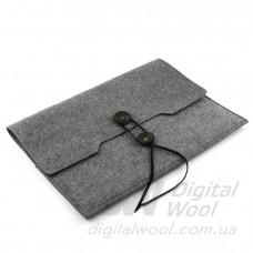 "Чехол для ноутбука Digital Wool Case 13"" Premium на завязке, Digitalwool"