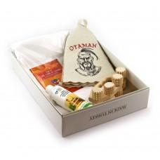 Подарочный набор для сауны №13 Отаман, для него . Saunapro