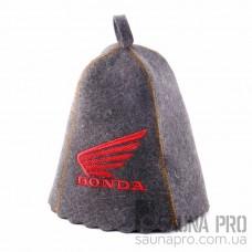 "Шапка для бани ""Хонда"" (светло-серый войлок), Saunapro"