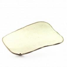 Коврик для бани и сауны светло-серый войлок с вышивкой в ассортименте, Saunapro