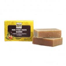 Банное мыло с эфирным маслом эвкалипта и медом, 75 грамм