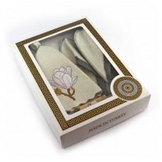 Подарочный набор для сауны №1 Магнолия, для нее, Saunapro
