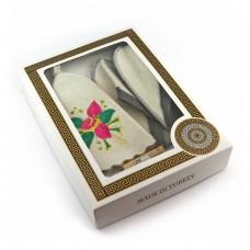Подарочный набор для сауны №1 Цветок, для нее, Saunapro