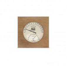 Термогигрометр для бани одинарный 6, Saunapro