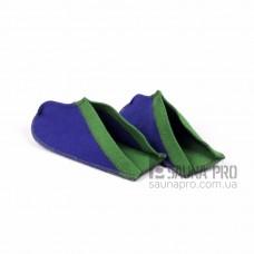 """Тапки для бани и сауны """"Аладдин"""" (цветной войлок) малые, Saunapro"""