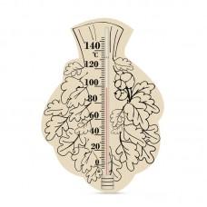 Термометр для сауны Веник 6, Saunapro