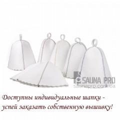 Разработка индивидуальной вышивки/логотипа  на шапках, Saunapro