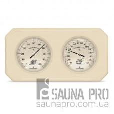 Термогигрометр для бани двойной 1, Saunapro
