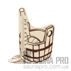 Термометр для сауны Шайка 7, Saunapro